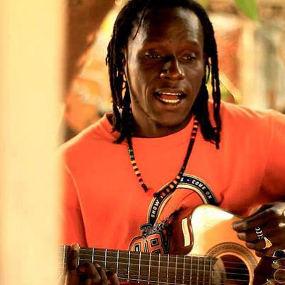 Jah Hero Guitar Gambia